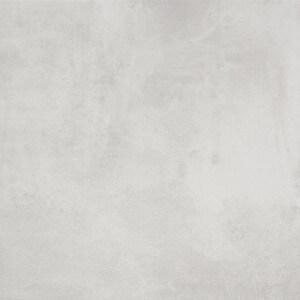 Carrelage sol aspect béton Nice Bianco 80x80 cm