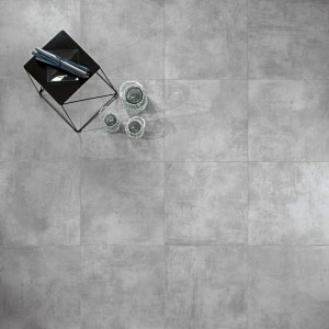 Carrelage sol aspect béton Nice Grigio 60x120 cm