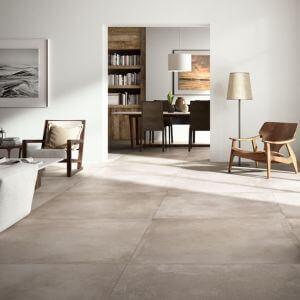 Carrelage XXL Concrete Mud 120x120 cm