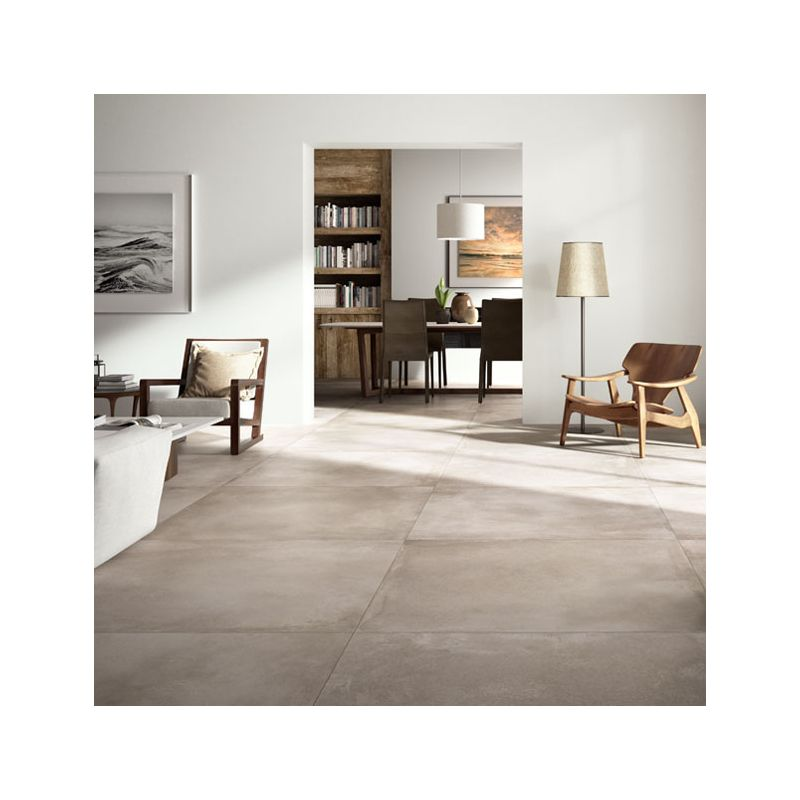 Carrelage xxl concrete mud 120x120 cm carrelage grand format for Carrelage grand format 120x120