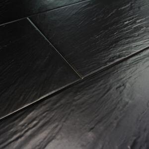 Carrelage sol et mur tendance pizzara negro