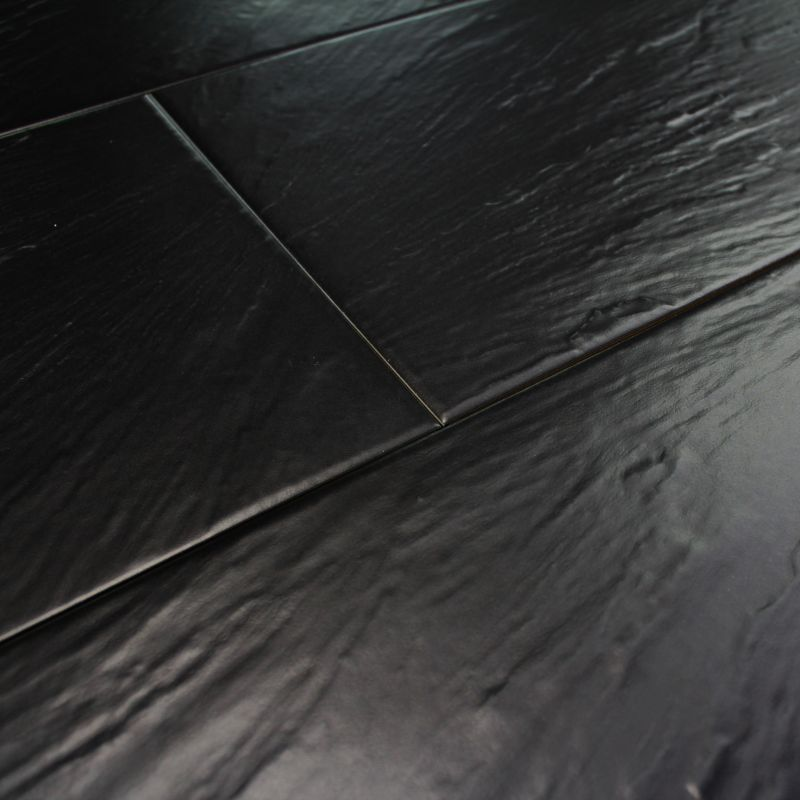Beautiful carrelage imitation ardoise noire images for Carrelage ardoise noir