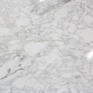 Carrelage 100% Marbre poli blanc Carrare Lucido Mezzi