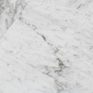Carrelage 100% Marbre poli blanc Carrare Lucido Grandissimo