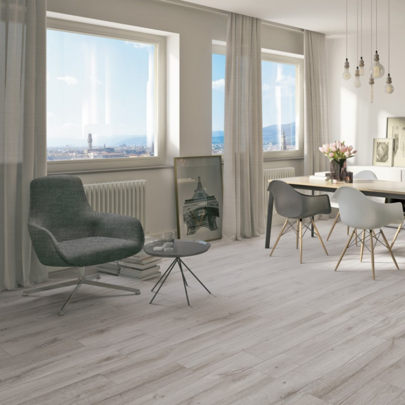 carrelage sol aspect parquet bricola grigio bois de chene. Black Bedroom Furniture Sets. Home Design Ideas