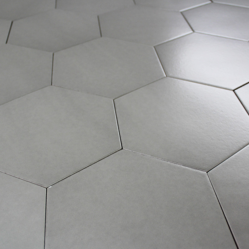 Carrelage hexagonal sol for Carrelage grand format pas cher