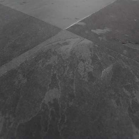 carrelage ardoise naturelle noire montauk 40x40 cm. Black Bedroom Furniture Sets. Home Design Ideas