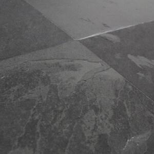 Carrelage sol ardoise naturelle Montauk Black 20x20 cm