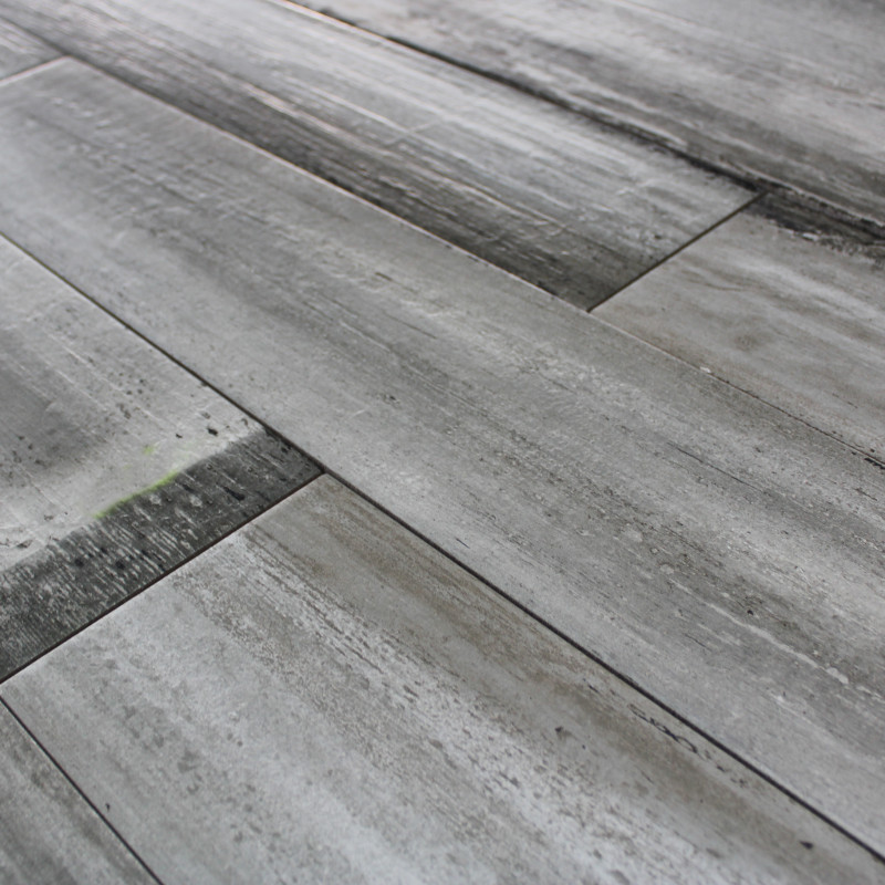 Carrelage sol aspect parquet wood grey imitation parquet ch ne gris - Carrelage aspect parquet ...