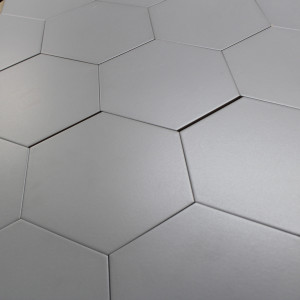 Carrelage hexagonal sol et mur Basic Grey