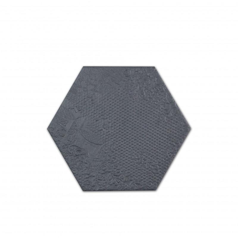 carrelage hexagonal noir milano black sol et mur parquet carrelage. Black Bedroom Furniture Sets. Home Design Ideas