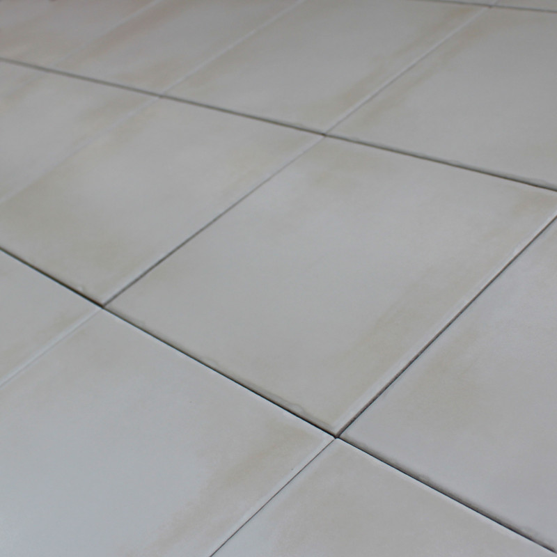 Carrelage sol et mur gemme avorio 20x20 for Carrelage blanc 20x20