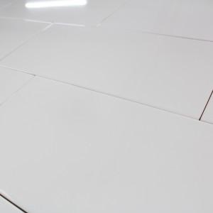 Carrelage mural blanc brillant Polaire