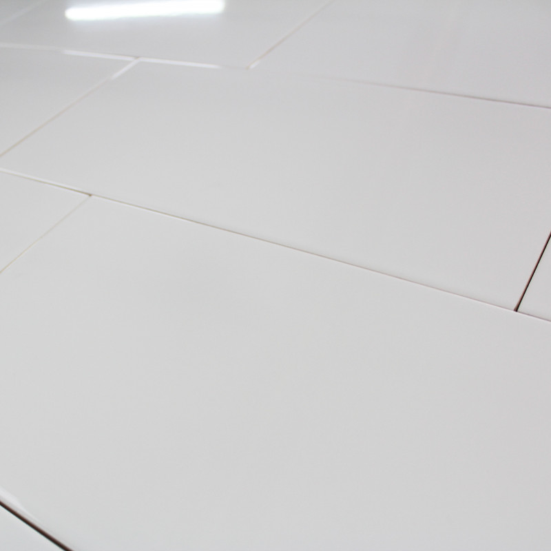 Carrelage mural blanc brillant polaire carrelage salle de for Carrelage sol interieur blanc brillant