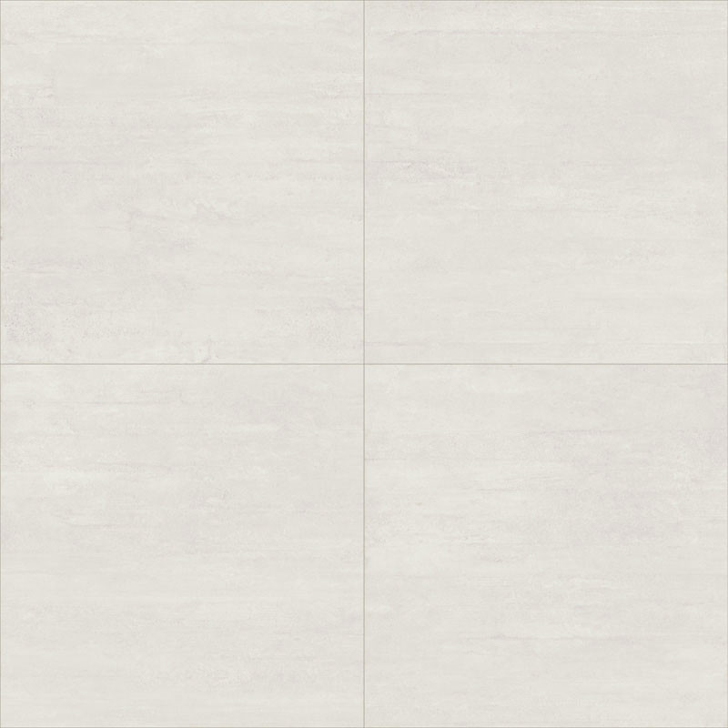 Carrelage sol aspect Béton Axis White Mat