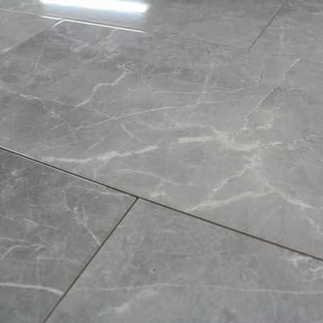 Carrelage Mur Aspect Marbre Alejandria Gris Brillant Carrelage Mural - Carrelage imitation marbre