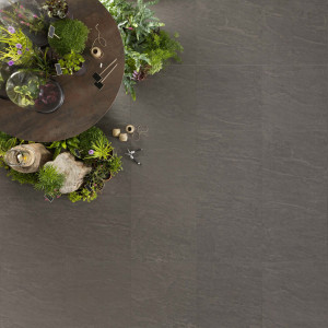 Carrelage sol aspect pierre naturelle Kobe Graphite 60x60