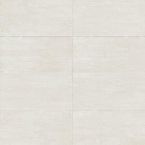 Carrelage sol aspect Béton Axis White Mat 60x120