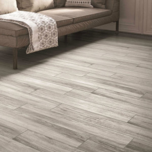 Carrelage sol aspect parquet Timber Ghiaccio