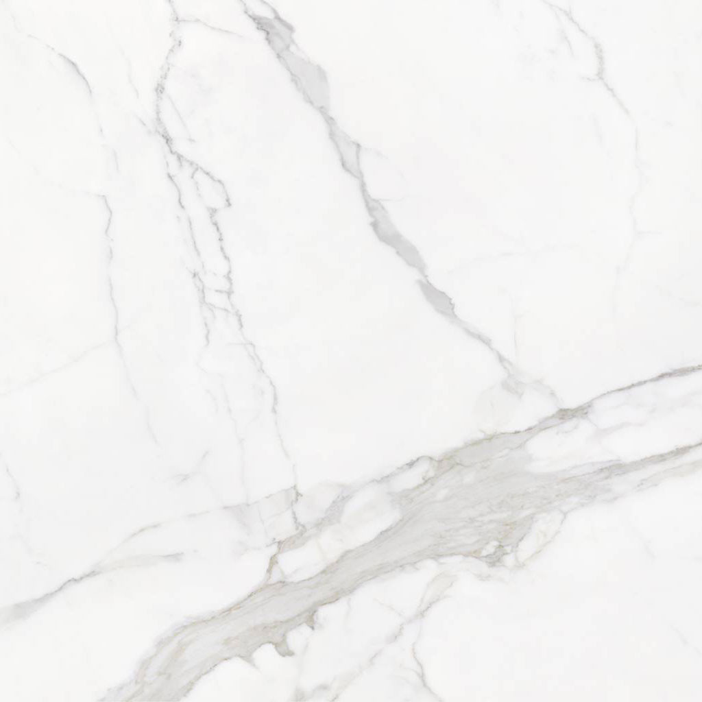 Carrelage sol aspect marbre  Statuario Mate 60x60