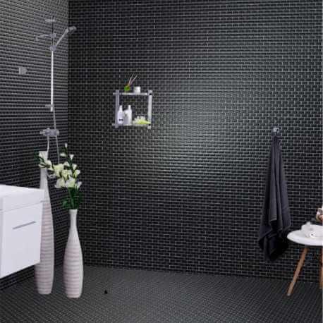 mosa que fa ence brillante saphir mini m tro porcelaine. Black Bedroom Furniture Sets. Home Design Ideas