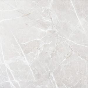 Carrelage sol poli Verdi Blanco aspect marbre