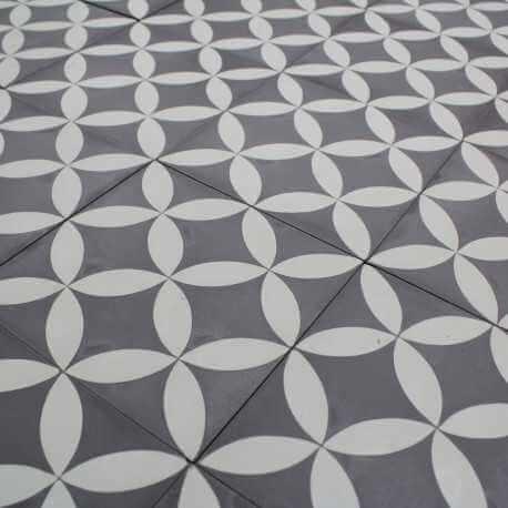 Carreau ciment Acacia Grey