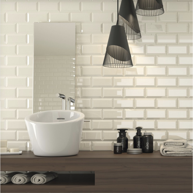 carrelage mural m tro hueso brillant carrelage m tro. Black Bedroom Furniture Sets. Home Design Ideas