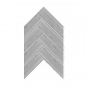 Carrelage sol et mur aspect parquet grisé Walkyria Silver 20x120 cm