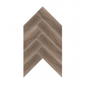 Carrelage sol et mur aspect parquet chocolat Kootenaï Taupe 20x120 cm