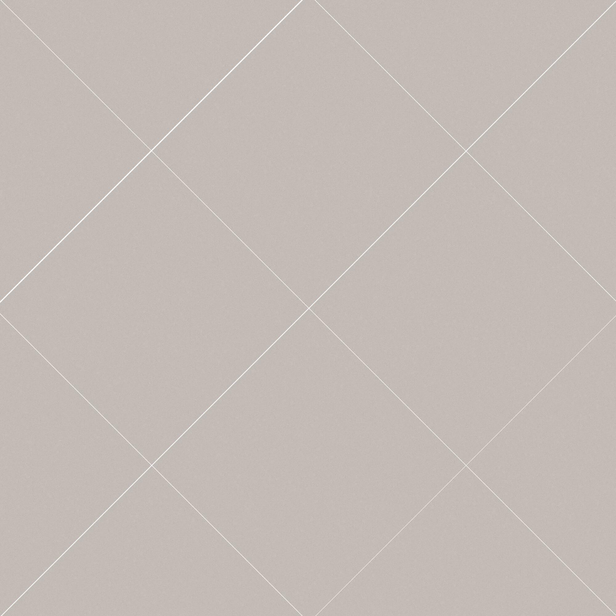 Carrelage sol et mur aspect carreau ciment taupe uni Barcelona Piedra 25x25 cm