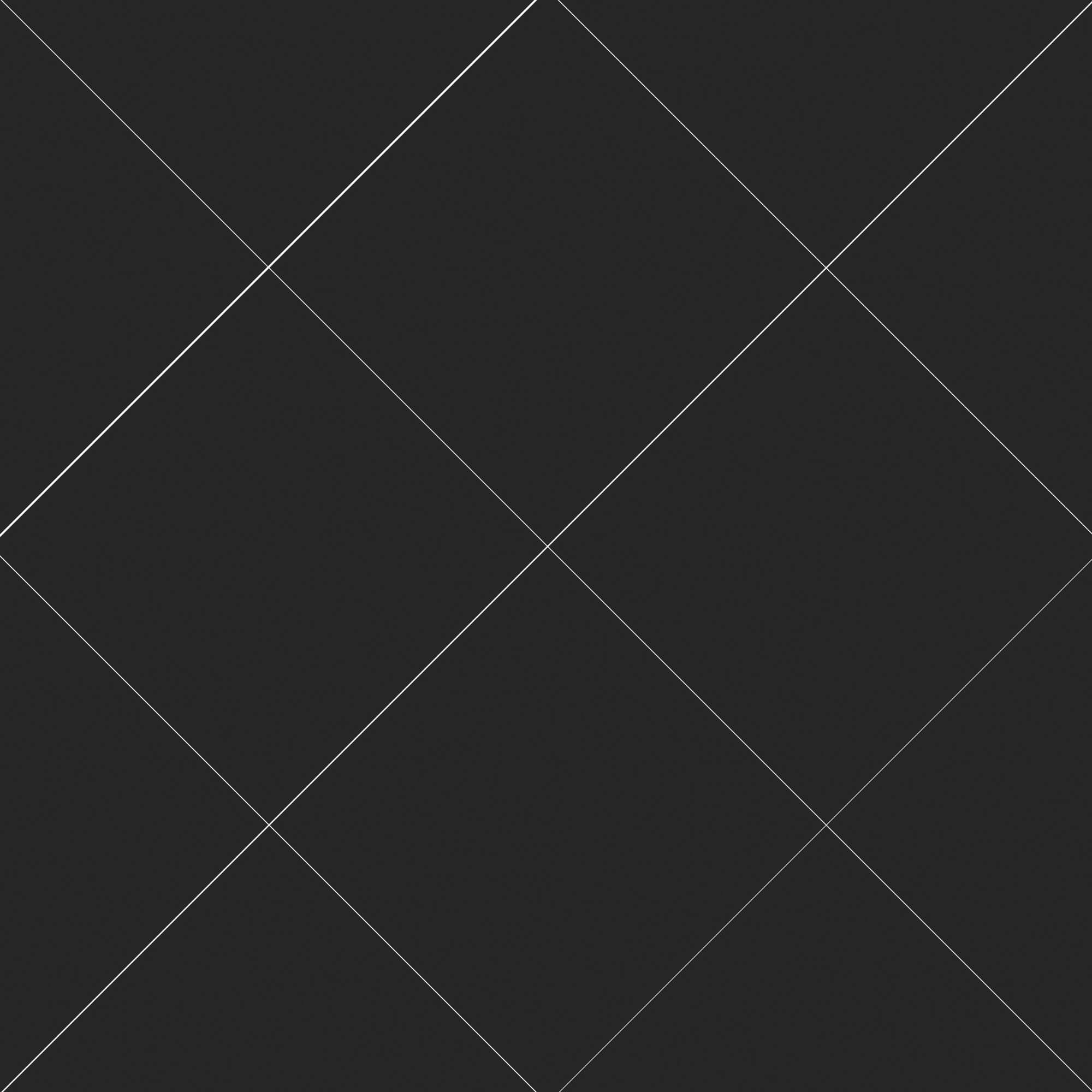 Carrelage sol et mur aspect carreau ciment noir anthracite uni Barcelona Negro 25x25 cm