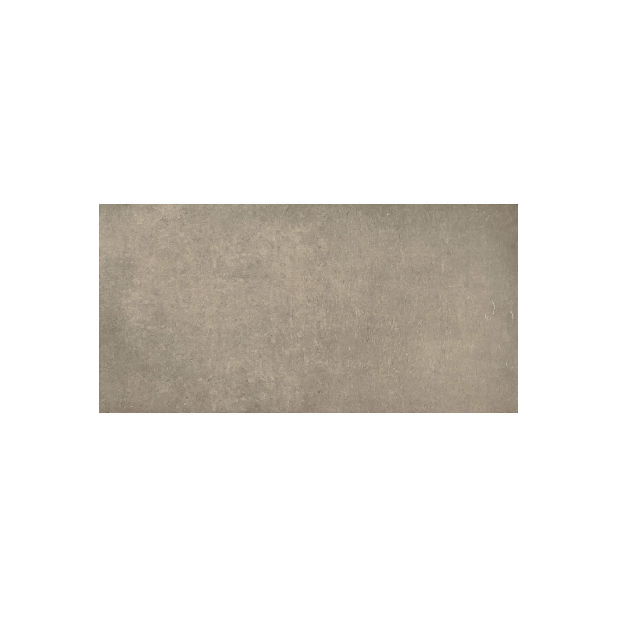 Carrelage sol et mur aspect pierre taupe Leccese Tortora 60x120 cm rectifié