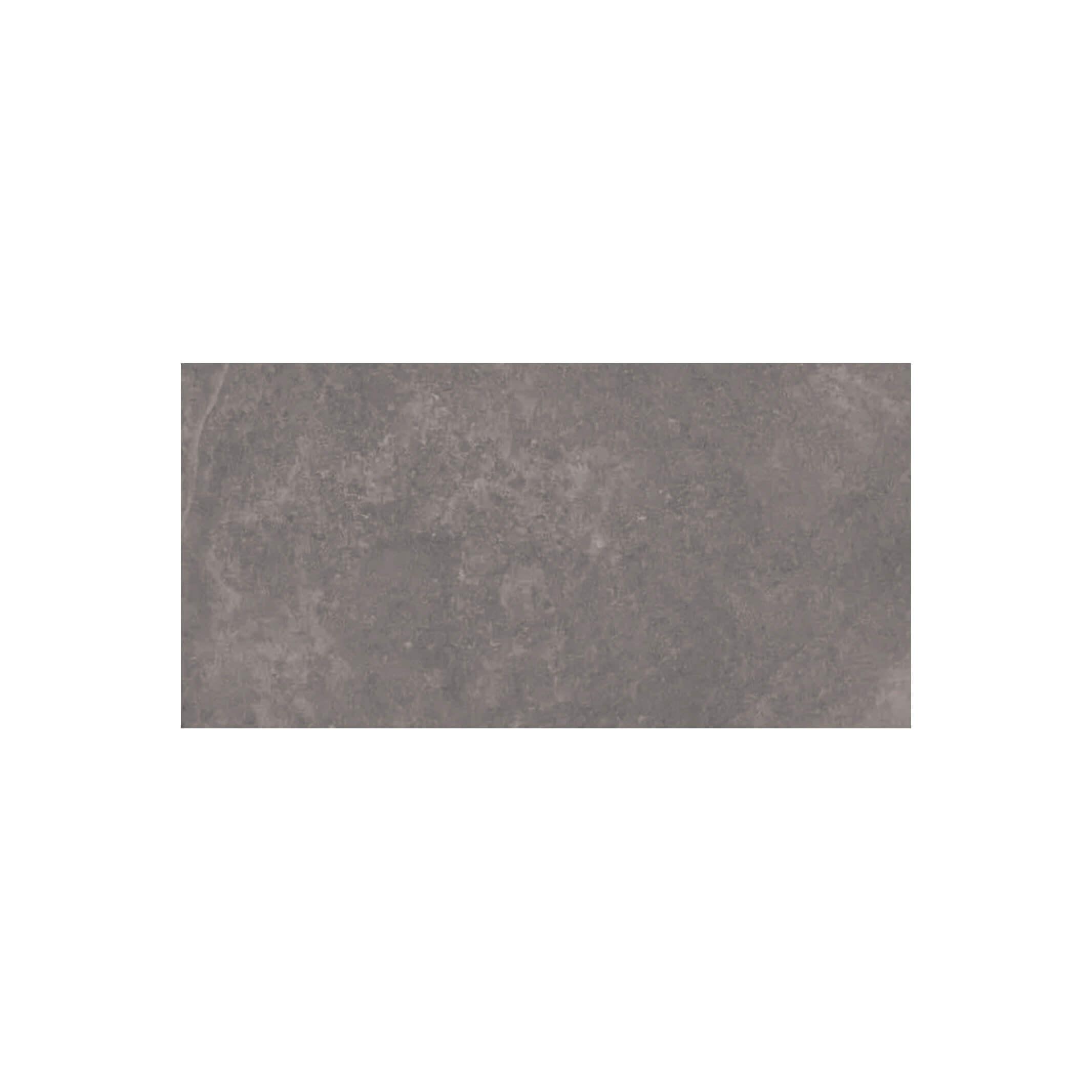 Carrelage sol et mur aspect pierre gris Leccese Fossile 60x120 cm rectifié