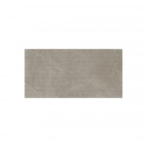Carrelage sol et mur antidérapant aspect pierre taupe Leccese Tortora Cesellata 60x120 cm rectifié