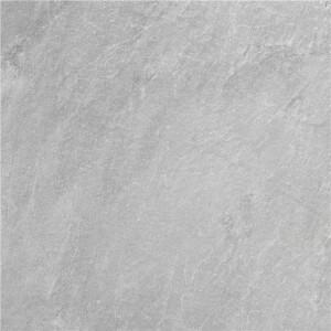 Carrelage sol et mur antidérapant aspect pierre gris Slate Rock Grey 60x60 cm
