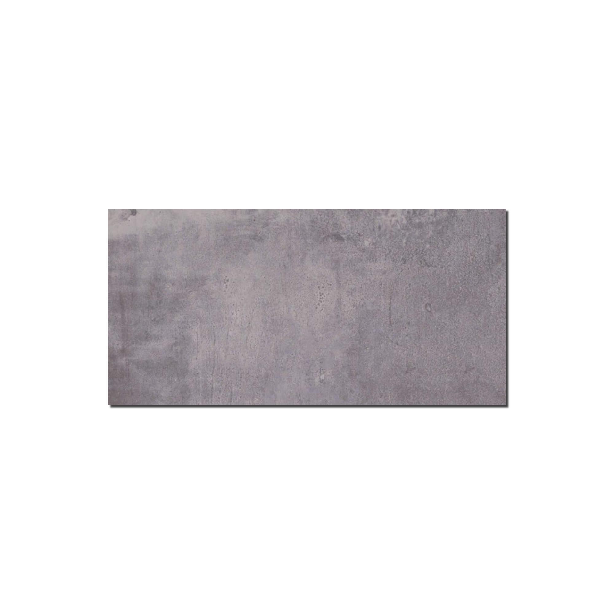 Carrelage sol et mur aspect béton Nice Cenere 30x60 cm
