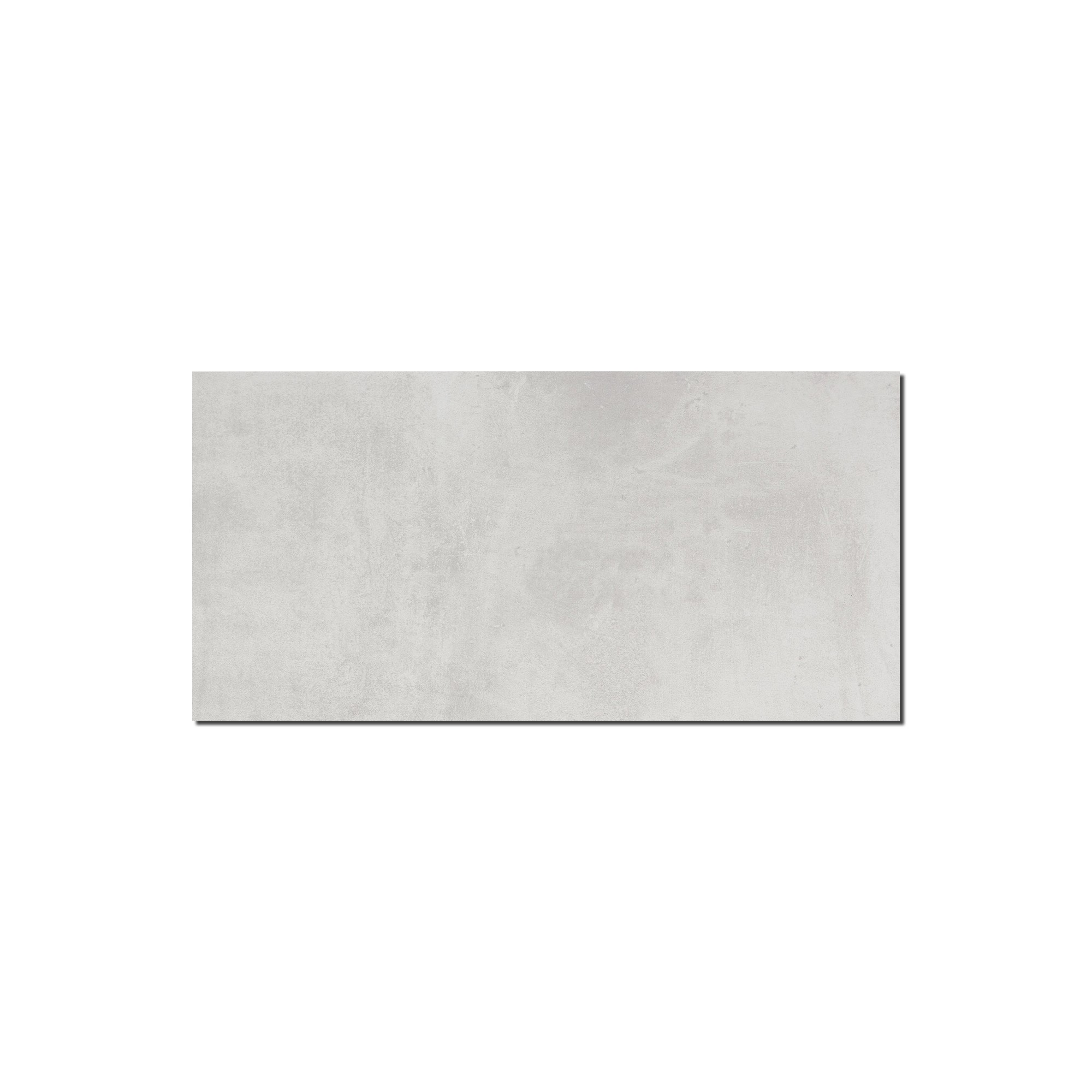 Carrelage sol et mur aspect béton Nice Bianco 30x60 cm