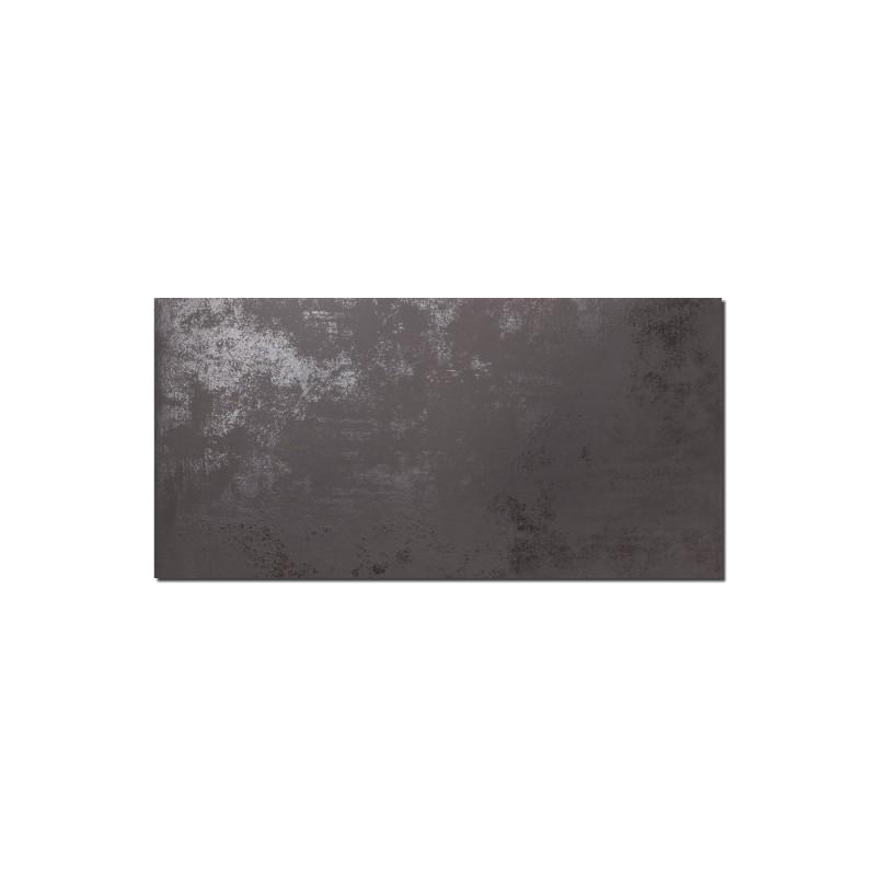 Carrelage sol et mur aspect b ton lunare anthracite 30x60 cm for Carrelage aspect beton