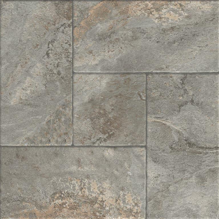 Carrelage sol exterieur aspect pavé Trajano Beige 45x45 cm antidérapant