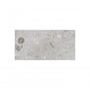 Carrelage sol exterieur aspect béton gris Boule 60x120 cm antidérapant