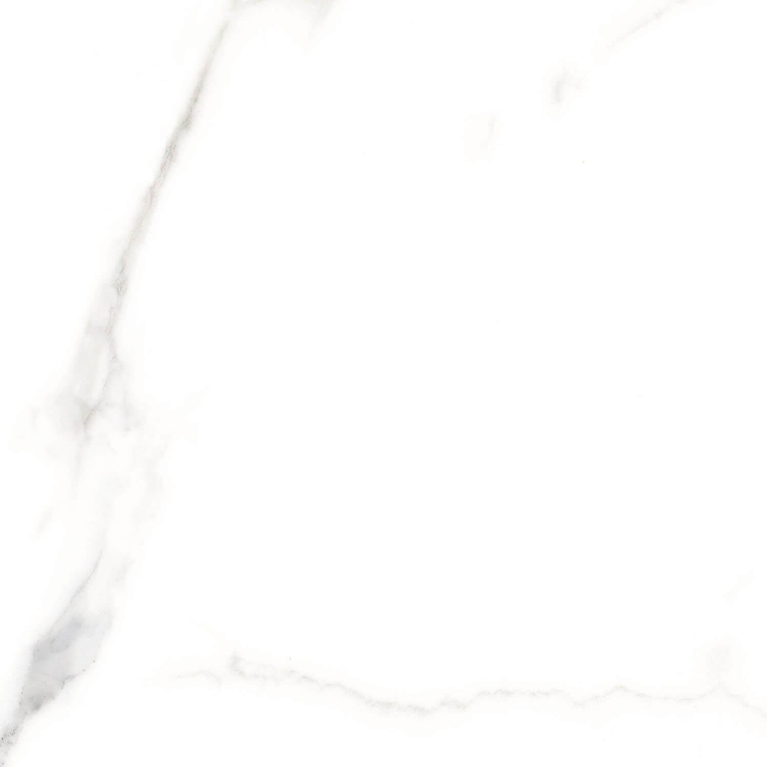 Carrelage sol et mur aspect marbre blanc mat Terni Blanco 25x25 cm
