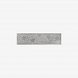 Carrelage mural gris Relieve Drop Greige 7,5x30 cm
