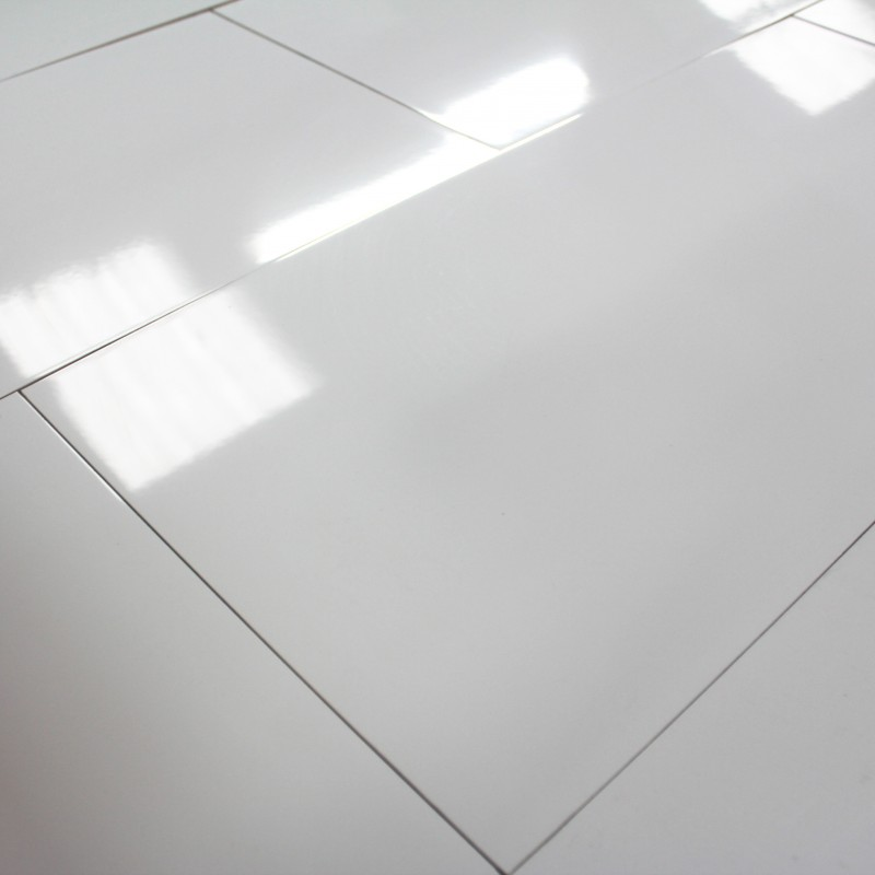 Carrelage sol blanc brillant 30x60 for Carrelage sol interieur blanc brillant
