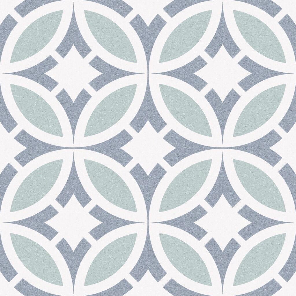 Carrelage aspect carreau ciment Comédie de Paris 25x25 cm