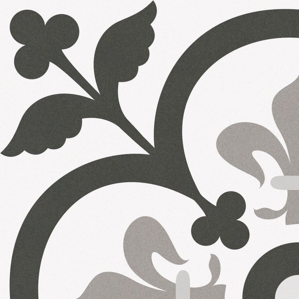 Carrelage aspect carreau ciment Paris Vendome 25x25 cm