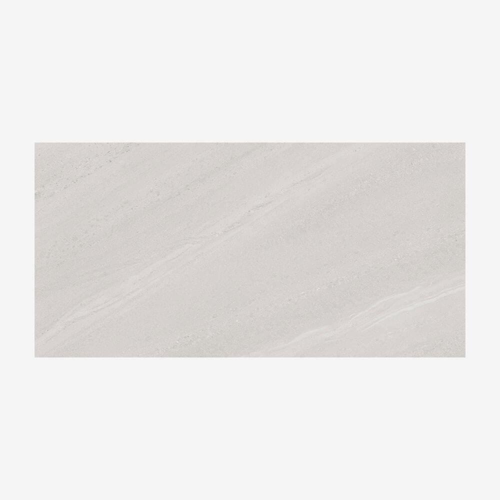 Carrelage aspect marbre Majestic White 60x120 cm