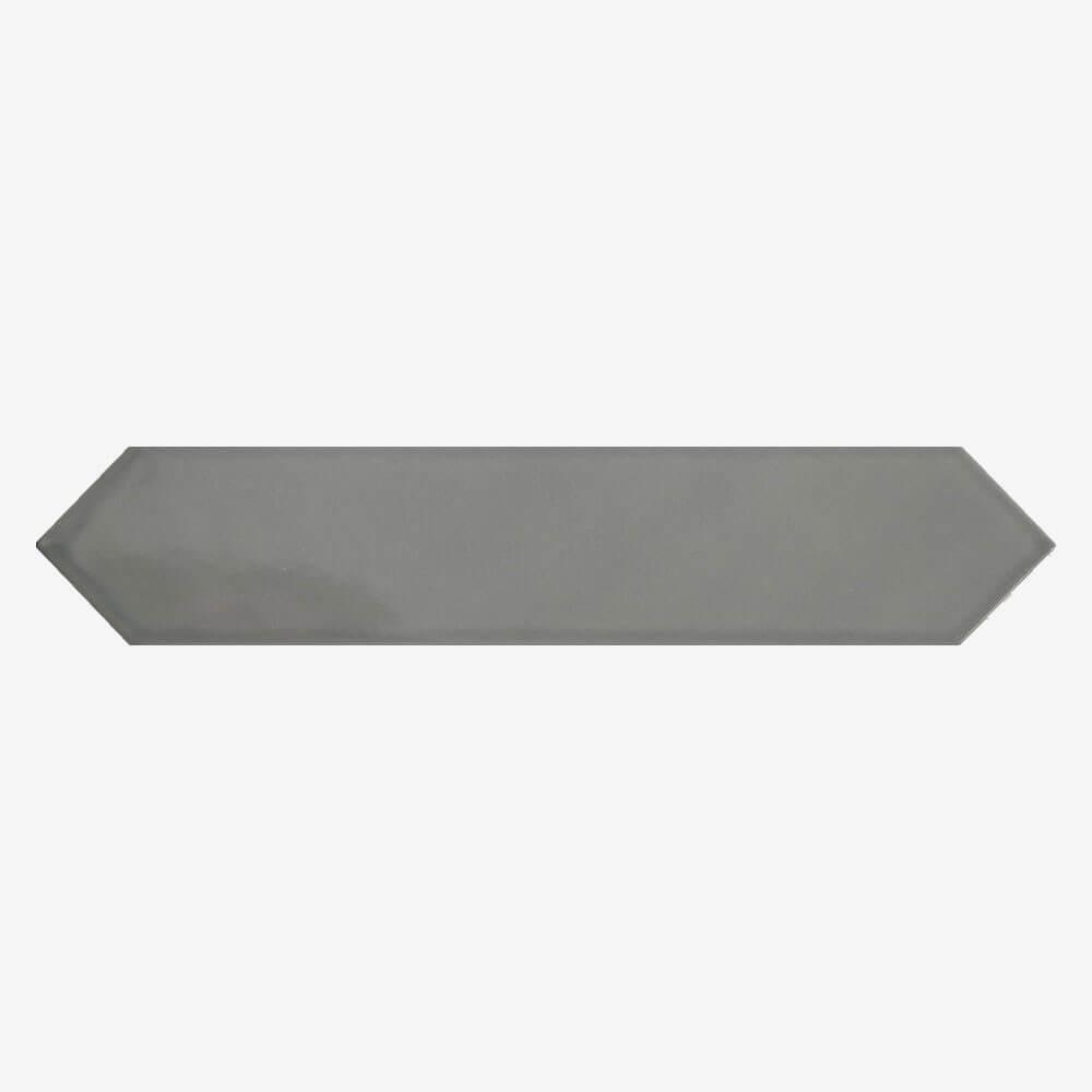 Carrelage aspect zellige Dimsey grey 6,5x33,2 cm