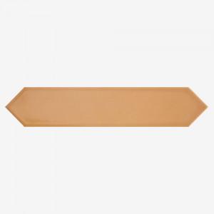 Carrelage aspect zellige Dimsey ocre 6,5x33,2 cm