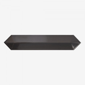 Carrelage aspect zellige Dimsey anthracite outside 6,5x33,2 cm